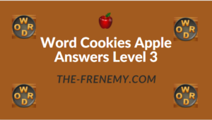 Word Cookies Apple Answers Level 3