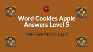 Word Cookies Apple Answers Level 5