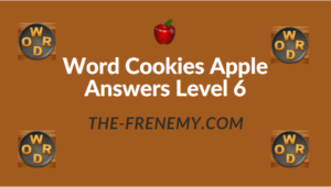 Word Cookies Apple Answers Level 6