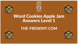 Word Cookies Apple Jam level 1 Answers