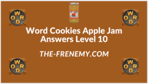 Word Cookies Apple Jam level 10 Answers