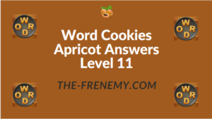 Word Cookies Apricot Answers Level 11