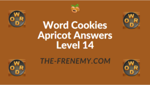 Word Cookies Apricot Answers Level 14