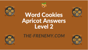 Word Cookies Apricot Answers Level 2