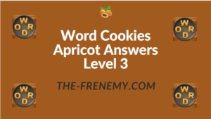 Word Cookies Apricot Answers Level 3