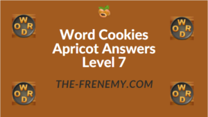 Word Cookies Apricot Answers Level 7