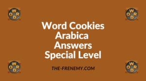 Word Cookies Arabica Special Level Answers