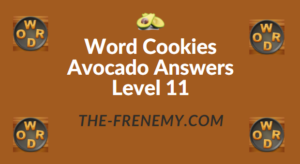 Word Cookies Avocado Answers Level 11