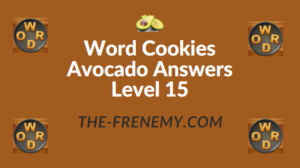 Word Cookies Avocado Answers Level 15