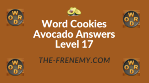 Word Cookies Avocado Answers Level 17