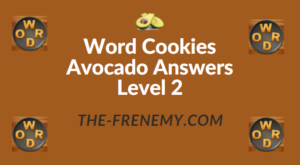 Word Cookies Avocado Answers Level 2