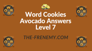 Word Cookies Avocado Answers Level 7