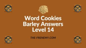 Word Cookies Barley Answers Level 14