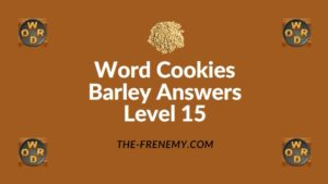 Word Cookies Barley Answers Level 15