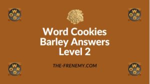 Word Cookies Barley Answers Level 2