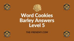 Word Cookies Barley Answers Level 5