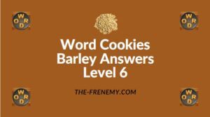 Word Cookies Barley Answers Level 6
