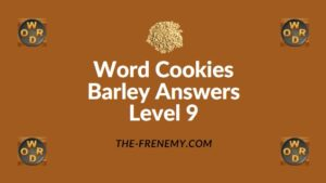Word Cookies Barley Answers Level 9