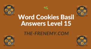 Word Cookies Basil Answers Level 15