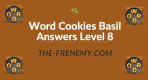 Word Cookies Basil Answers Level 8