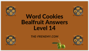 Word Cookies Bealfruit Level 14 Answers