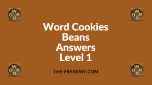 Word Cookies Beans Level 1 Answers