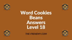 Word Cookies Beans Level 18 Answers