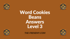 Word Cookies Beans Level 3 Answers