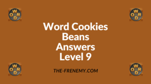 Word Cookies Beans Level 9 Answers
