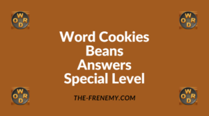 Word Cookies Beans Special Level Answers