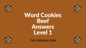 Word Cookies Beef Level 1 Answers
