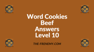 Word Cookies Beef Level 10 Answers