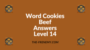 Word Cookies Beef Level 14 Answers
