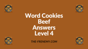 Word Cookies Beef Level 4 Answers