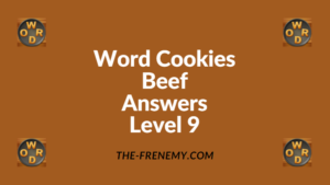 Word Cookies Beef Level 9 Answers
