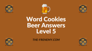 Word Cookies Beer Answers Level 5