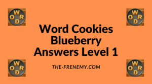 Word Cookies Blueberry Level 1 Answers