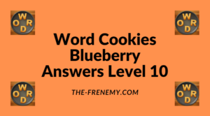 Word Cookies Blueberry Level 10 Answers