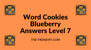 Word Cookies Blueberry Level 7 Answers