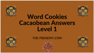 Word Cookies Cacaobean Level 1 Answers