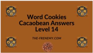 Word Cookies Cacaobean Level 14 Answers