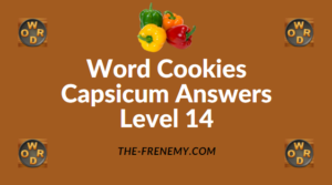 Word Cookies Capsicum Answers Level 14
