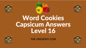 Word Cookies Capsicum Answers Level 16