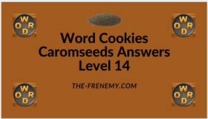 Word Cookies Caromseeds Level 14 Answers