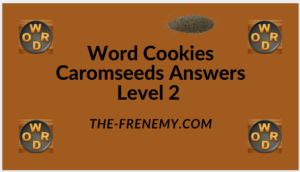 Word Cookies Caromseeds Level 2 Answers