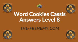 Word Cookies Cassis Answers Level 8