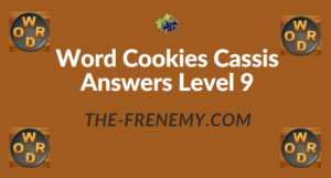 Word Cookies Cassis Answers Level 9