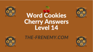 Word Cookies Cherry Answers Level 14