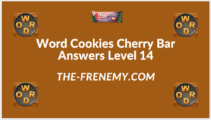 Word Cookies Cherry Bar Level 14 Answers
