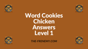 Word Cookies Chicken Level 1 Answers